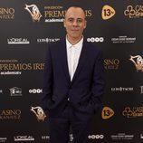 Javier Gutiérrez en los Premios Iris 2016