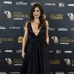 Lucía Jiménez en los Premios Iris 2016