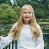 Foto oficial de Amalia de Holanda