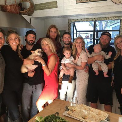Caitlyn Jenner junto a sus hijos en Acción de Gracias