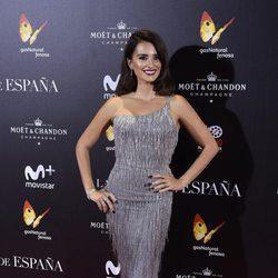Penélope Cruz en la premiere de 'La Reina de España' en Madrid