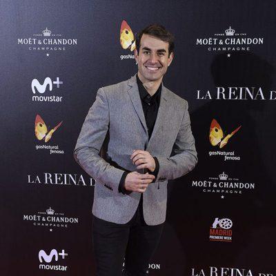 Daniel Muriel en la premiere de 'La Reina de España' en Madrid