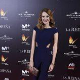 Elena Ballesteros en la premiere de 'La Reina de España' en Madrid