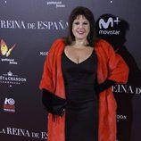 Loles León en la premiere de 'La Reina de España' en Madrid