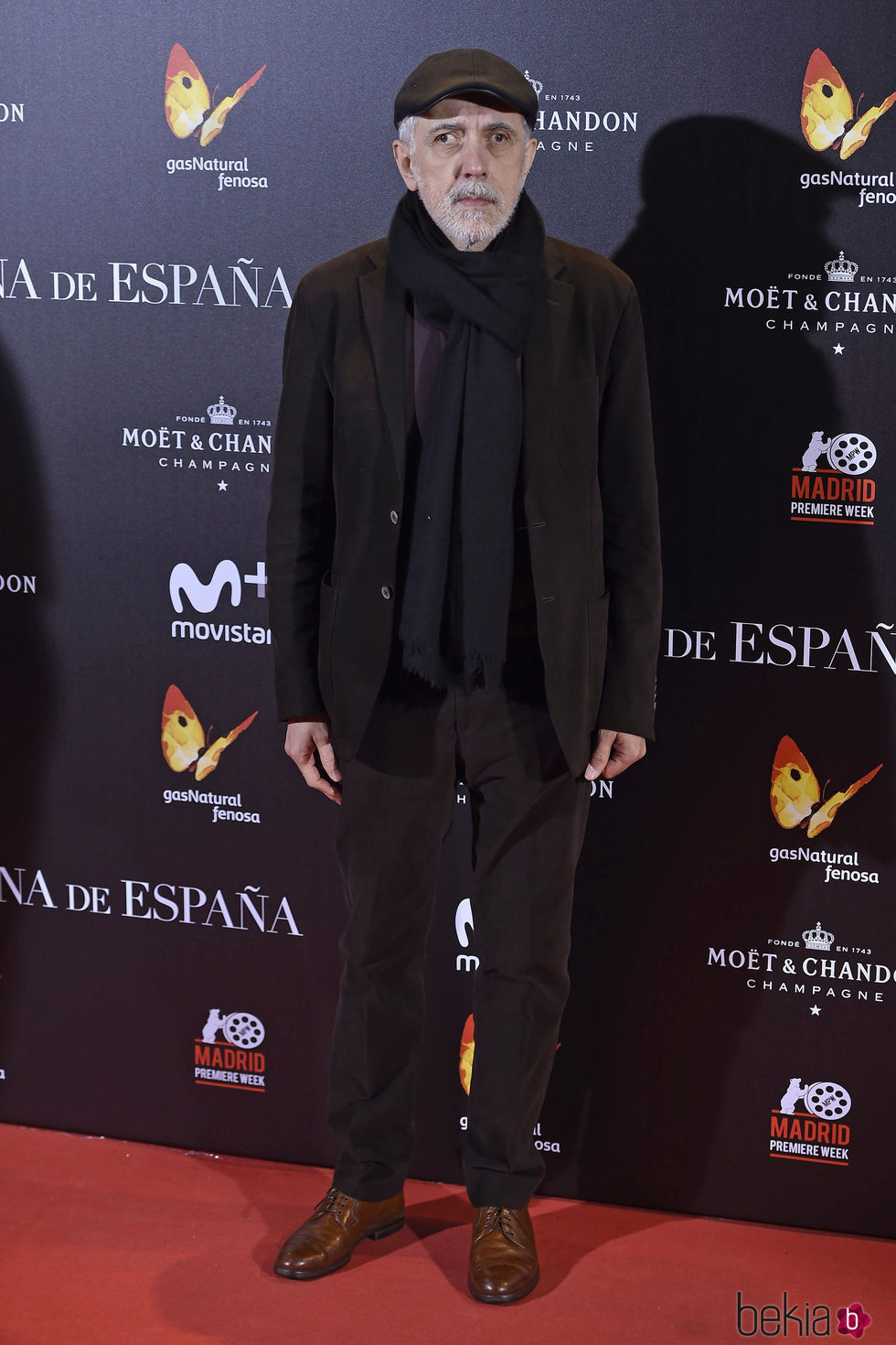 Fernando Trueba en la premiere de 'La Reina de España' en Madrid