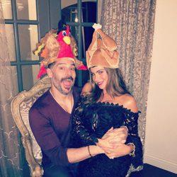 Sofia Vergara celebra Acción de Gracias con su marido Joe Manganiello