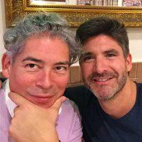 Toño Sanchís celebra Acción de Gracias junto a Boris Izaguirre
