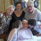Catherine Zeta-Jones y Michael Douglas celebran Acción de Gracias en familia