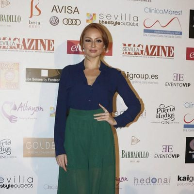 Cristina Castaño en los premios de la revista 'Sevilla Magazine'