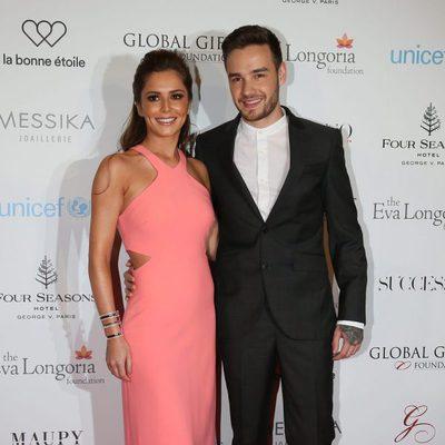 Cheryl y Liam Payne en  Gala Mundial de Regalo en París