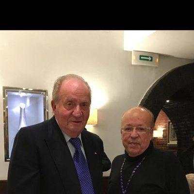 El Rey Juan Carlos en su encuentro Rappel