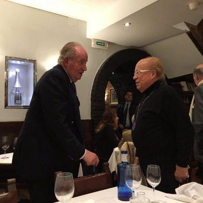El Rey Juan Carlos con Rappel