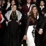Sara Carbonero en una cena de gala con los Reyes Felipe y Letizia en Guimaraes