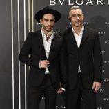 Pelayo Díaz y Sebastián Ferraro en un evento con motivo de 'Bulgari y Roma'