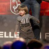 Sasha Piqué en la gala del Mejor Jugador Catalán