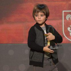 Milan Piqué en la gala del Mejor Jugador Catalán