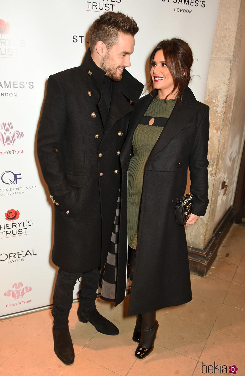 Cheryl y Liam Payne en el photocall de 'The Fayre of St James's'