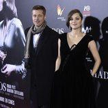 Brad Pitt y Marion Cotillard en la premiere de 'Aliados' en Madrid