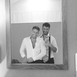 Ricky Martin y su novio Jwan Yosef