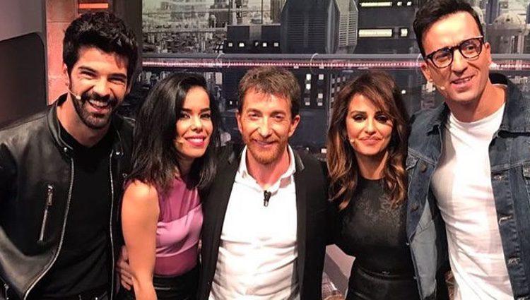 Los actores de 'Un paso adelante' en su visita  a 'El Hormiguero'