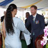 Rihanna y el Príncipe Harry en el momento en el que se conocieron