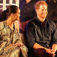 El Príncipe Harry y Rihanna se divierten en el 50 aniversario de la independencia de Barbados