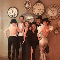Juana Acosta celebra su cumpleaños rodeada de amigos
