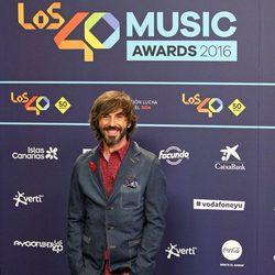 Santi MIllán en Los40 Music Awards 2016