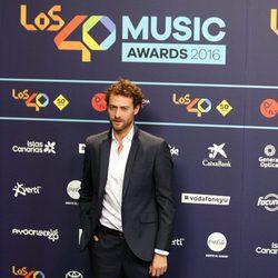 Peter Vives en Los40 Music Awards 2016