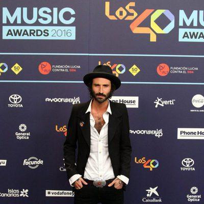 Leiva en Los40 Music Awards 2016