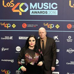 Fangoria en Los40 Music Awards 2016