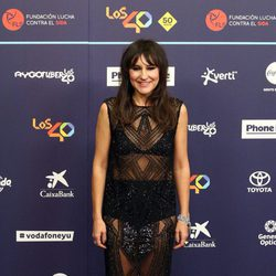 Eva Amaral en Los40 Music Awards 2016
