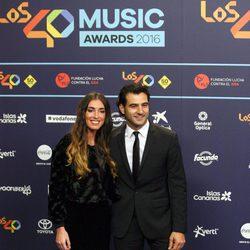 Antonio Velázquez y Mercedes López en Los40 Music Awards 2016