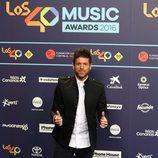 Pablo López en Los40 Music Awards 2016