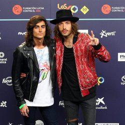 Juan Fernández y Adrián Roma en Los40 Music Awards 2016