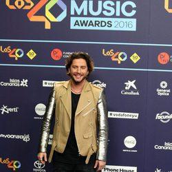 Manuel Carrasco en Los40 Music Awards 2016