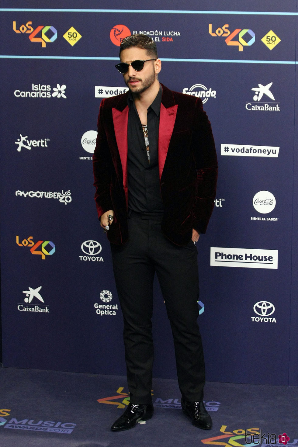 Maluma en Los40 Music Awards 2016