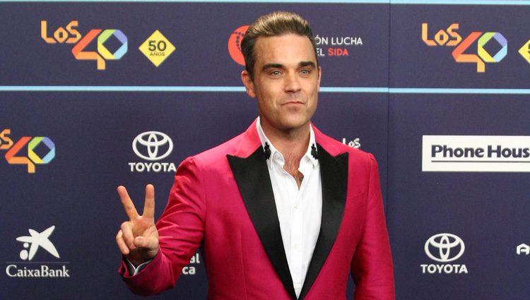 Robbie Williams en Los40 Music Awards 2016