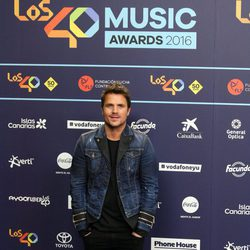 Dani Martín en Los40 Music Awards 2016