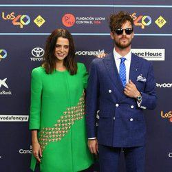 Macarena Gómez y Aldo Comas en Los40 Music Awards 2016