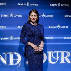 Andrea Duro en la fiesta de clausura de The Bombay Sapphire