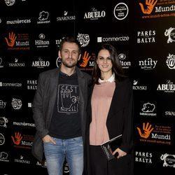 Raúl Arévalo y Melina Matthews en la Gala Benéfica Mundi 2016