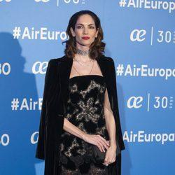 Eugenia Silva en la celebración del 30 aniversario de Air Europa