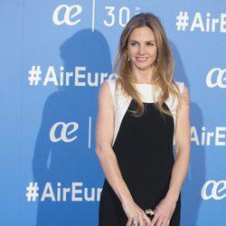 Genoveva Casanova en la celebración del 30 aniversario de Air Europa