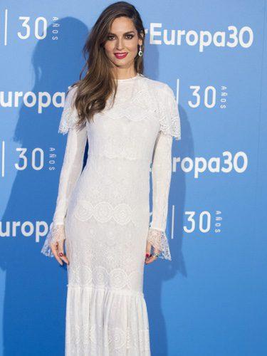 Ariadne Artiles en la celebración del 30 aniversario de Air Europa