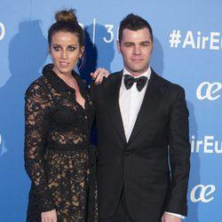 Fonsi Nieto y Marta Castro en la celebración del 30 aniversario de Air Europa