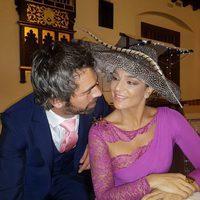 Raquel Bollo junto a su nuevo novio Juan Manuel Torralbo