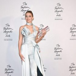 Gigi Hadid en los British Fashion Awards 2016