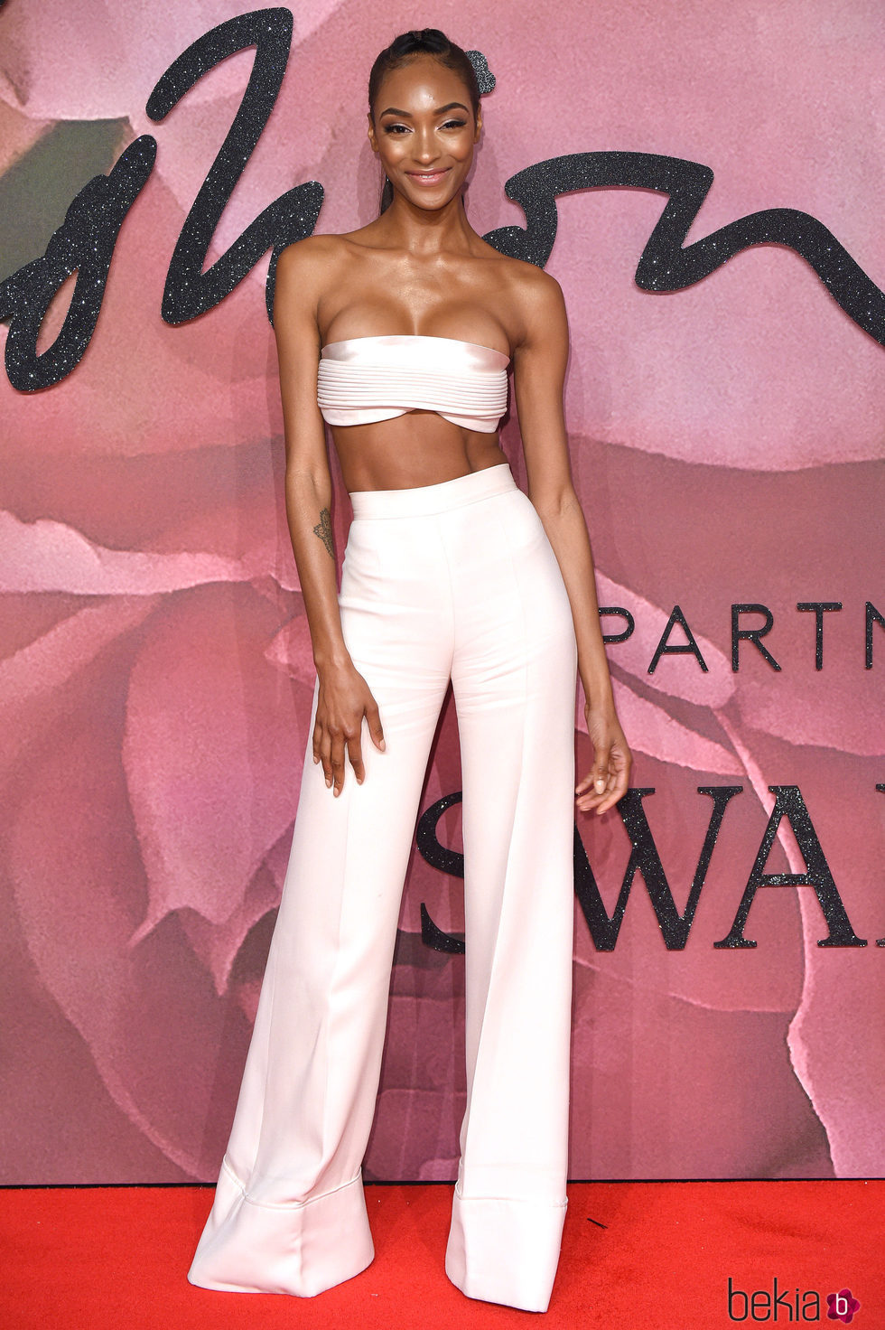 Jourdan Dunn en los British Fashion Awards 2016