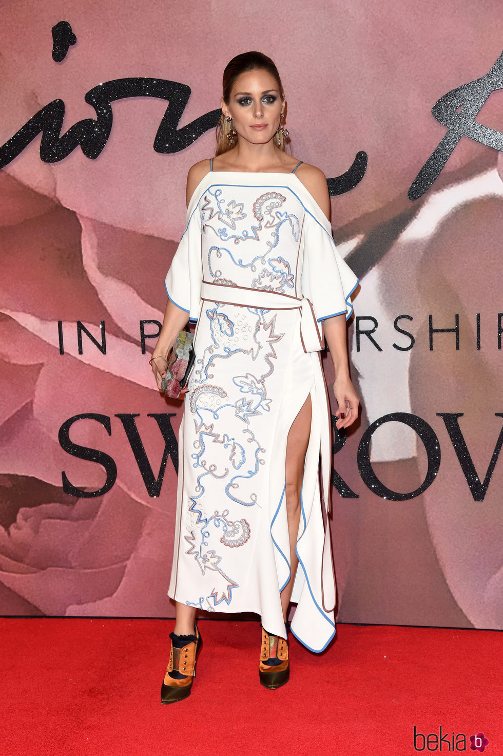 Olivia Palermo en los British Fashion Awards 2016